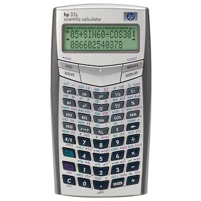 HP-33S Calculator
